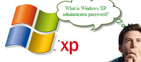 windows xp administrator password