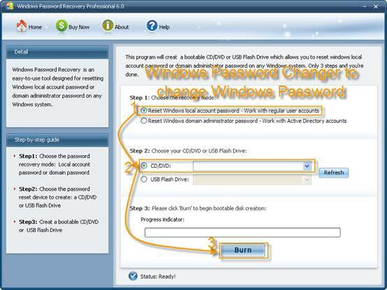 how to change administrator windows xp
