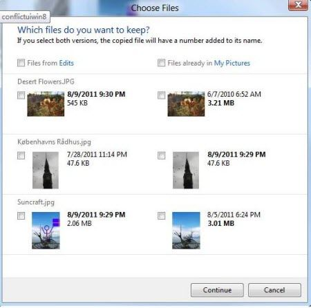 how to use windows 8's file-copy feature