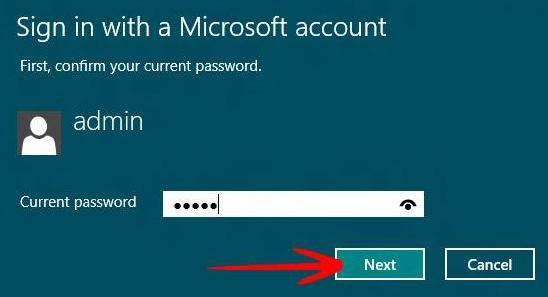 how to switch between microsoft account and local account in windows 8