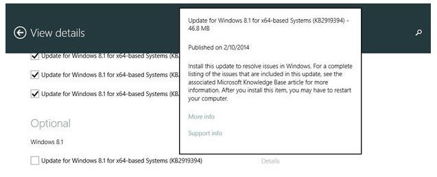 how do I get windows 8.1 update 1