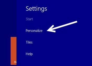 customize windows 8.1 start screen
