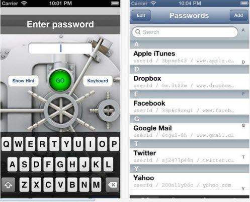 ree password manager