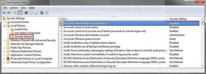 how to activate built-in administrator account in windows 7