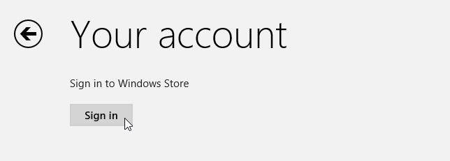 how to share apps between multiple accounts on windows 8