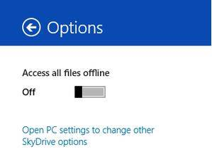 how to force skydrive to store a copy of your files on your hard drive in windows 8.1