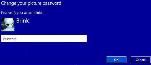 change picture password in windows 8.1