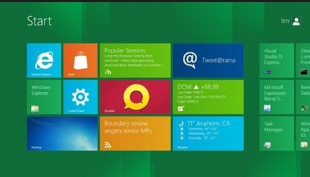 Windows 8 Metro Interface Blues