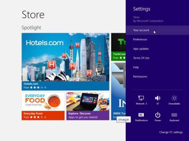 share apps between multiple accounts on windows 8