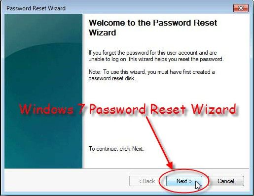 how to unlock windows 7 password