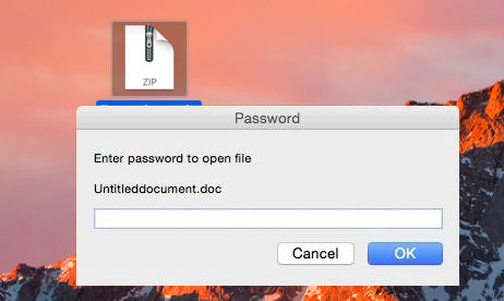 Easy Way to Password Protect ZIP Files on Mac 2018&2018