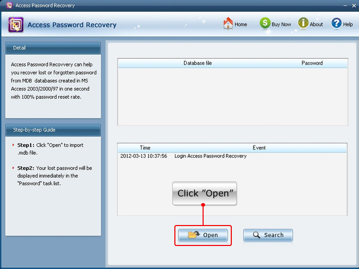 crack MS Access 2010 password