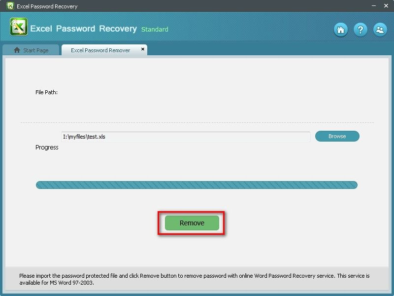 remove excel 2010 password