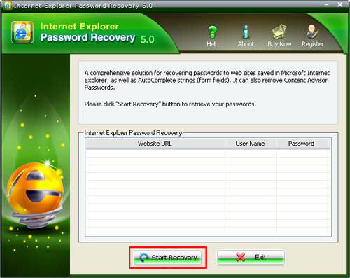 browser password recovery