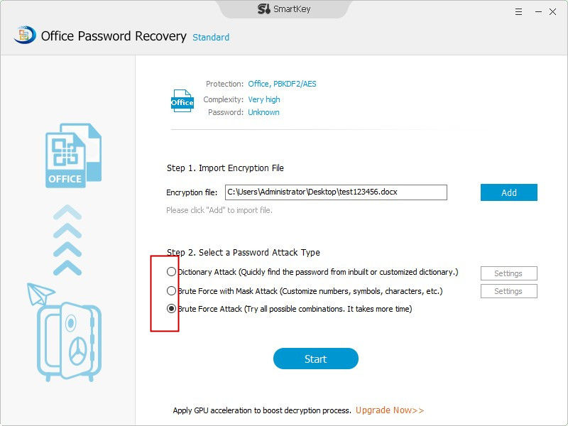 recover office 2013 password