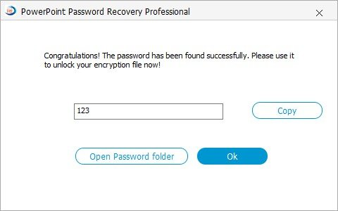 how to reset ppt password