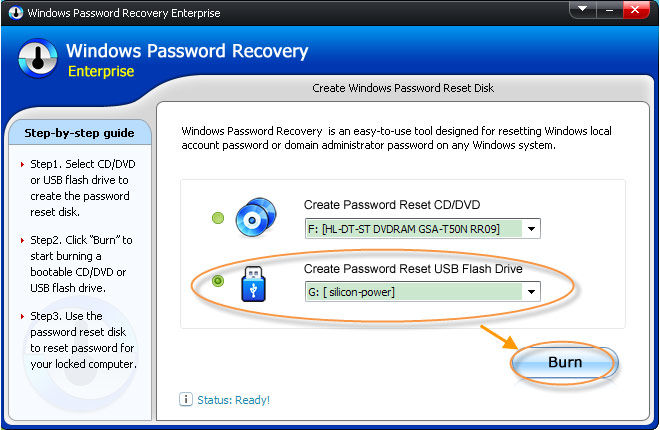 how to change domain password remote desktop