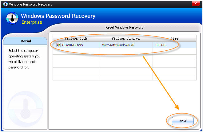 forgot password in windows 7