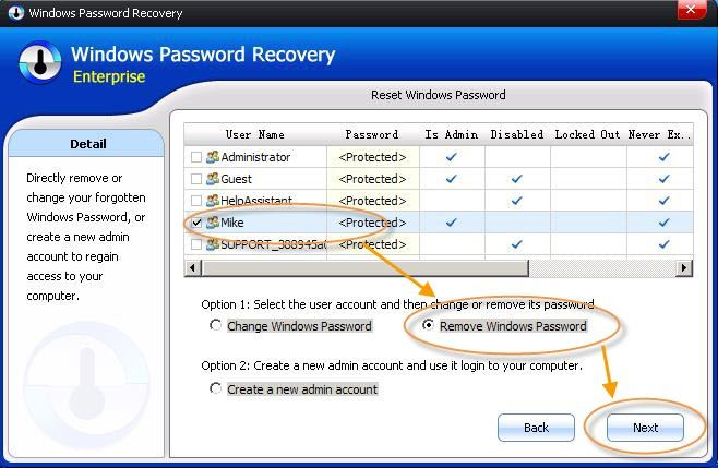 windows 8 password incorrect