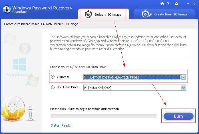 override windows 7 login password