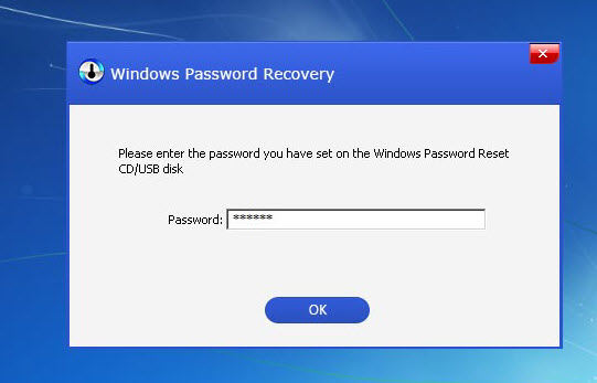 how to change startup password on windows