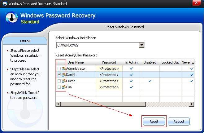 reset forgotten lenovo laptop password on windows 10/8.1/8/7
