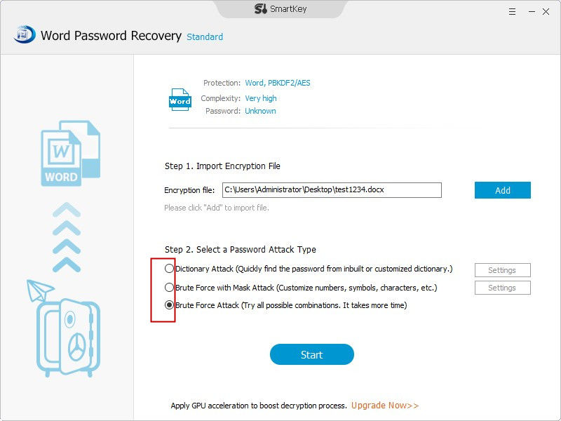 recover word 2007 password