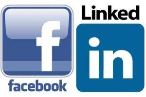 import contacts from facebook and linkedin