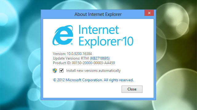 internet explorer comes to Windows 7