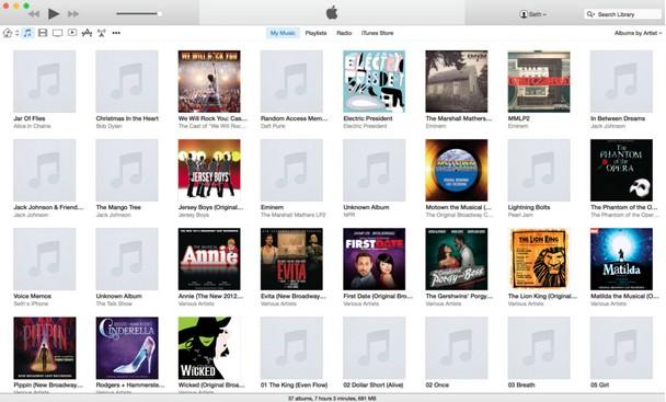 what is new in itunes 12 beta