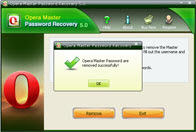 Recover Opera Master Password