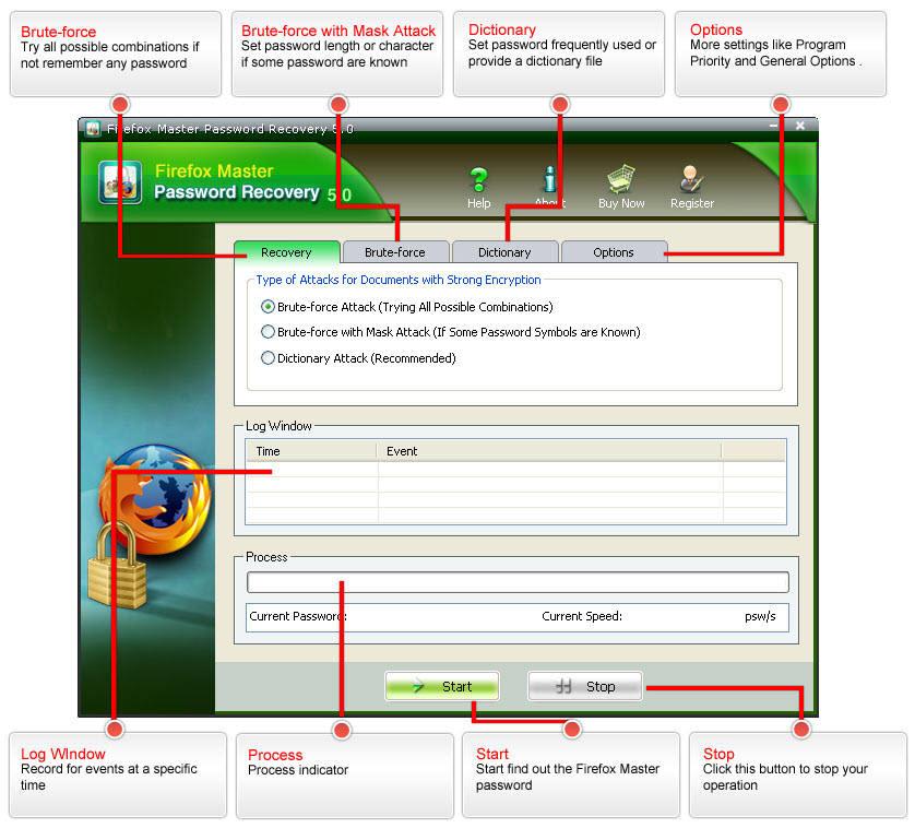 Firefox Master Passwort