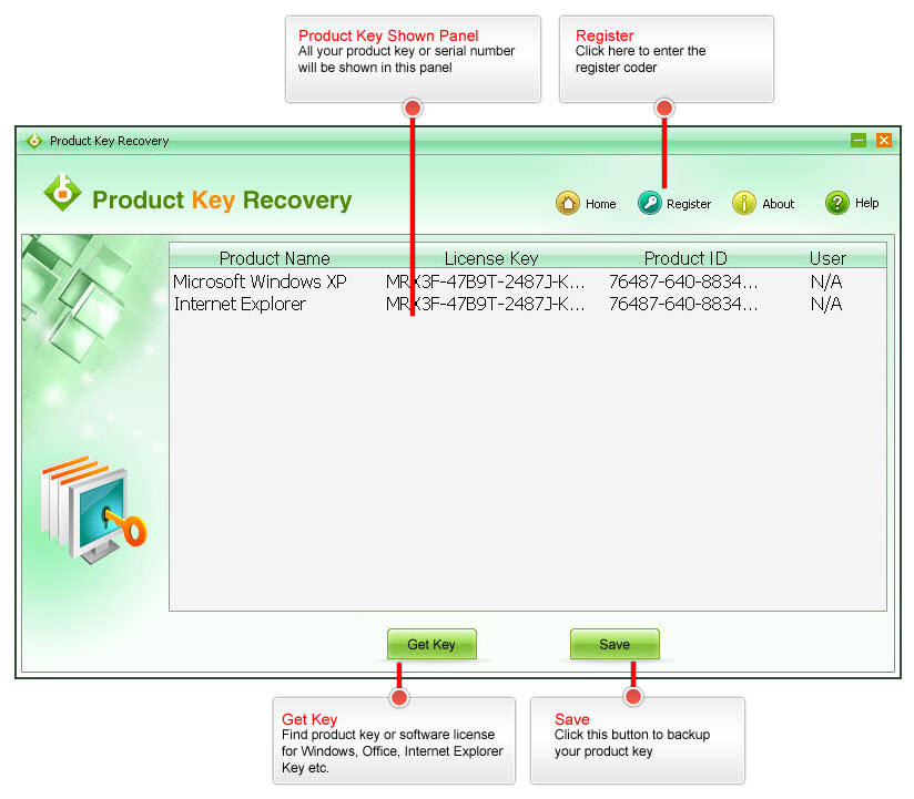 SmartKey Product Key Recovery -- Find Product Key for Windows ...